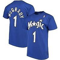 WLDSH Camiseta de Baloncesto de Manga Corta McGrady