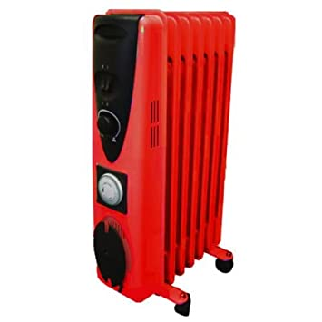 83ed897b7fc Ultramax Portable 7 Fin 1500W Electric OIL FILLED  Amazon.co.uk  Electronics