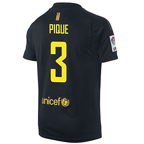 (PIQUE #3 Barcelona Away Jersey YOUTH. (YS))