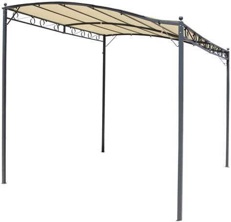 Hespéride Esterel - Pérgola cenador, 2,5 x 3 m, Color Crudo: Amazon.es: Hogar