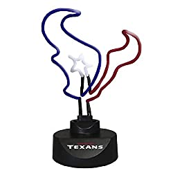 The Memory Company NFL Texans Unisex Neon Lamp TexansThe Memory Company Neon Lamp Texans, Multi, One Size