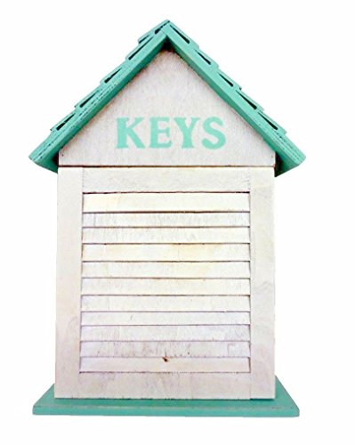 Extreme White Wash Weathered Shutter Design Key Holder