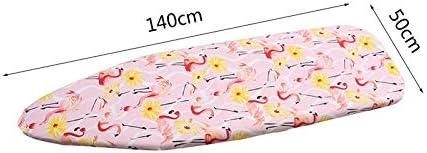 Flamingos B/ügelbrett Hitzebest/ändige Platzsparend B/ügelbrett Durable Breathrei/ßhitzebest/ändige Abdeckung Wohnaccessoires