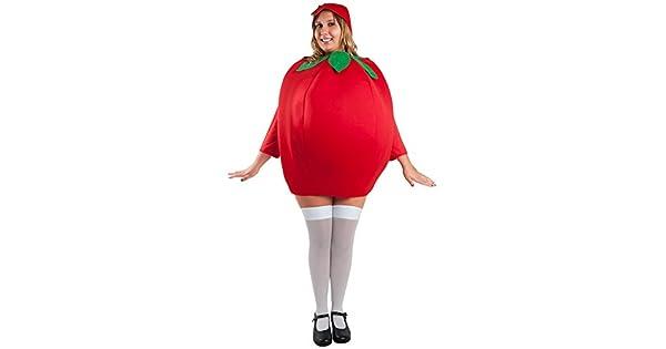 Amazon.com: Disfraz de adulto de tomate (tamaño: estándar ...