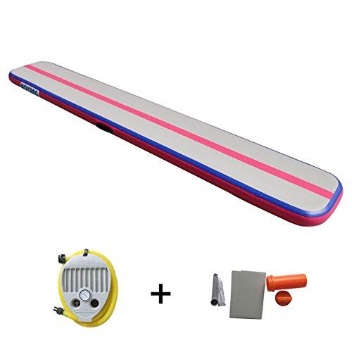 Gymnastic Inflatable Air Tumbling Mat Air floor / Tracks / Air beam / air box /Home Set/Training Board for GYM Fitness