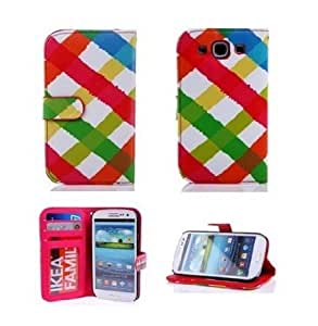 Cerhinu Thinkcase Samsung i9300 Galaxy S3 New tribal Design Premium PU Leather Wallet Case With Card Holder for Samsung...