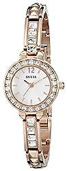 GUESS Women's U0429L3 Elegant Rose Gold-Tone Jewelry Inspired Watch