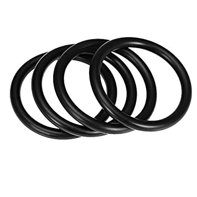 O-Rings Rubber Bands Bumper Fender Quick Release Fasteners (Pack of 4): Automotive