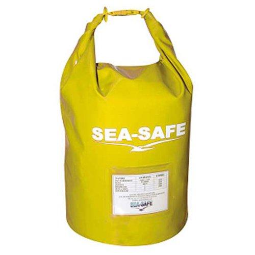 6 Man Life Raft - Sea Safe NS024SM, Grab Bag Liferaft 4-6 Man, Yellow, BAG ONLY