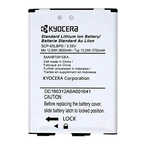 Genuine Kyocera SCP-65LBPS 3700mAh 3.55V Battery Kyocera DuraForce XD E6790