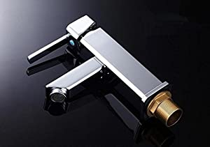 delicate SBWYLT-Copper single handle single hole hot cold basin faucet bathroom sink basin faucet chrome single hole faucet