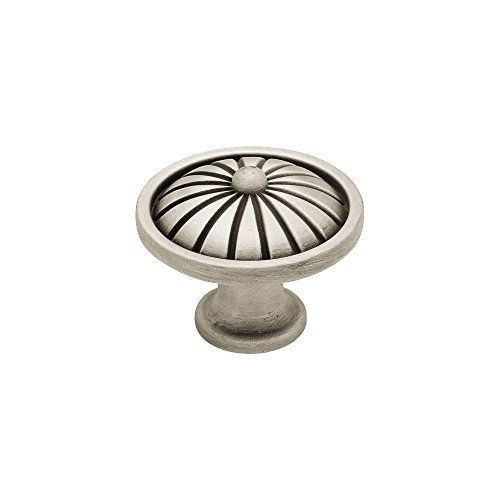 (Liberty PN1291-BSP-C 38mm French Tassel Kitchen Cabinet Hardware Knob, Brushed Satin Pewter)