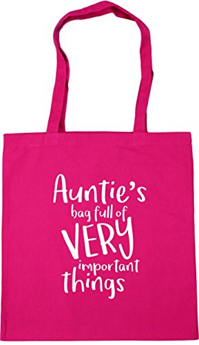 HippoWarehouse Auntie's Bag Full of Very Important Things Tote Shopping Gym...
