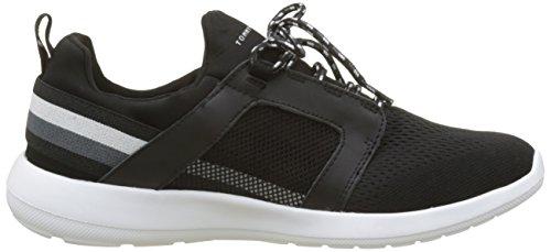 Tommy Hilfiger Herre Teknisk Materiale Mix Sneaker Sort (sort 990) 2dskHzqB