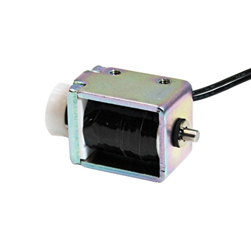Push Pull Actuator (Push Pull DC Solenoid Electromagnet DC 12v stroke 10mm / force 170g CBS12400320 [Manufactured in Japan])
