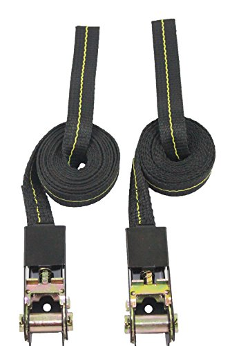 Lashing-Straps-Kayak-Straps-Ratcheting-Tie-Downs-Endless-Loop-1-Inch-X-8-Foot-3300-lb-Break-Strength-Made-in-USA