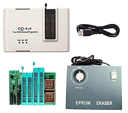 PRG-113 GQ-4X Willem Programmer+ ADP-054 16 Bit EPROM40/42pin+Tool-007 UV  Eraser