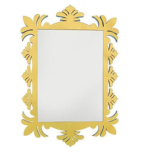 Quadro Espelho Decorativo Veneziano Sala Quarto 3866