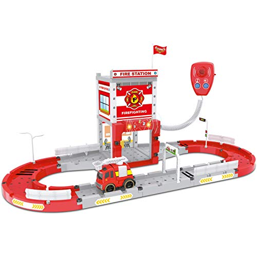 (Think Gizmos Take Apart Construction Set Toy for Boys & Girls from Choose from Police, Fire or Auto Repair Stations (Fire Station))