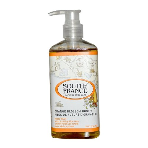 South Of France Liquid Soap, Orange Blossom Honey, 8 Fluid Ounce