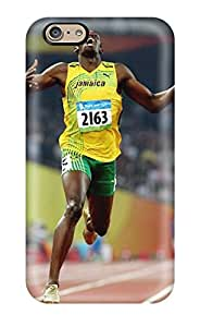 3455947K19611843 Premium Usain Bolt Running Back Cover Snap On Case For Iphone 6