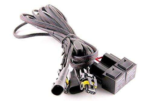 DDM Tuning Universal HID Dual Relay Harness 1 Year Warranty-FBA
