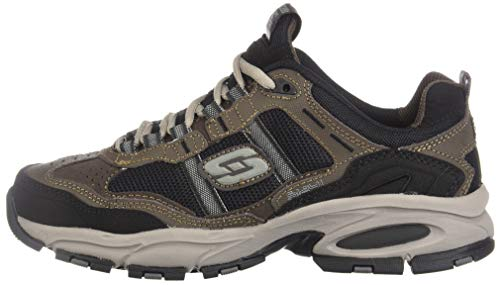 Skechers Sport Men's Vigor 2.0 Trait Memory Foam Sneaker, Brown/Black, 7.5 M US by Skechers (Image #5)