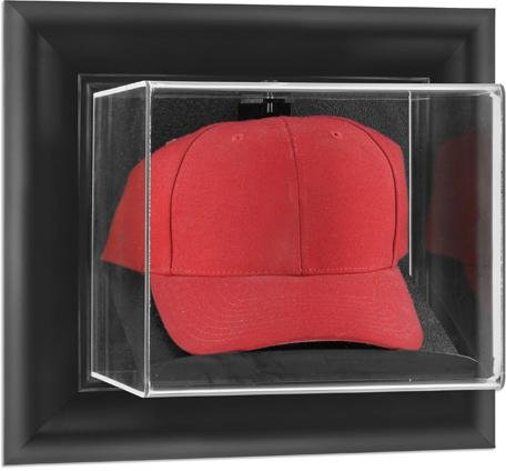 (Mounted Memories Framed Wall Mounted Cap Display Case)