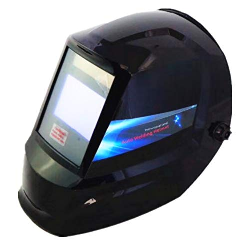 EULANGDE Variable Auto Darkening Welding Helmet ClearLight Lens, Black,Digital Elite,with True color Technology
