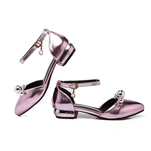 SLC03973 Pink AdeeSu Sandals Ballroom Dance Womens Studded Dress Urethane BSxS80Pqw