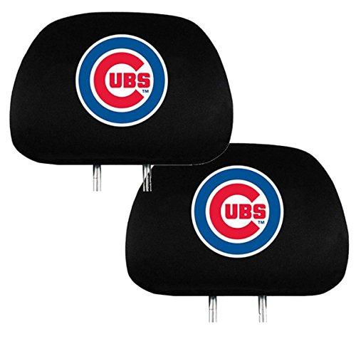 Team ProMark Official Major League Baseball Fan Shop Authentic Car Truck Auto MLB Headrest Cover (Chicago Cubs)