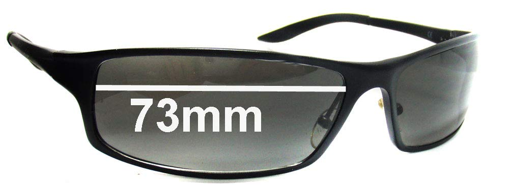 SFX Replacement Sunglass Lenses fits Fat Head Knuckledusters XL FH0015J 73 mm w