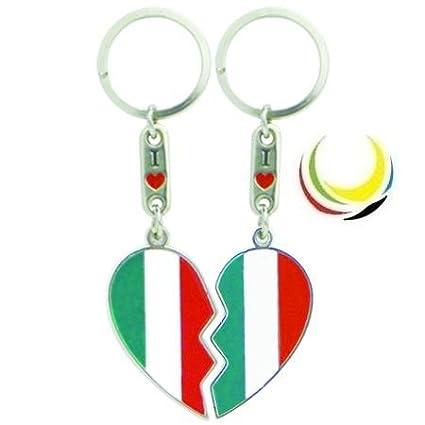 Keychain ITALY HEART