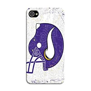 iphone 4s Protective Case,Extraordinary Football iphone 4s Case/Minnesota Vikings Designed iphone 4s Hard Case/Nfl Hard Case Cover Skin for iphone 4s