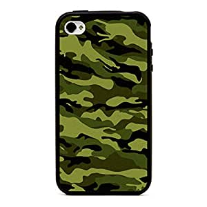 Case for Iphone 6 Plus 5.5 Inch Hard Polycarbonate Back with Soft TPU Borders Camouflage (Camouflage1) (Camouflage3)