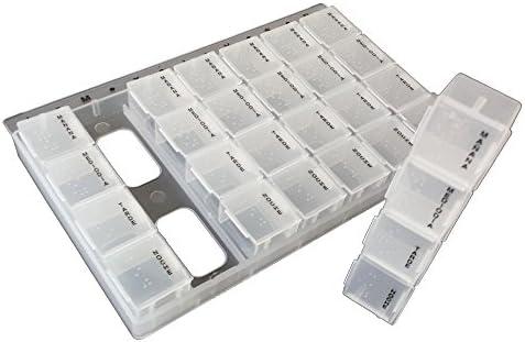 CEXPRESS - Caja Pastillero Organizador de Pastillas semanal ...