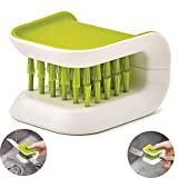 Blade Brush Knife Cleaner Chopsticks and Fork Cleaning Brush Cutlery Cleaner Utensil Bristle Scrubber Double Sided Spoon Knives Washing Brush