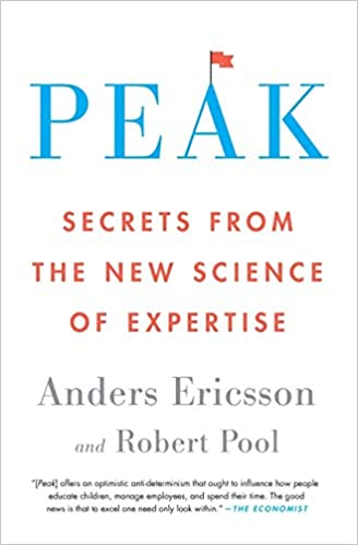 Peek: Secrets From the New Science of Expertise  book cover
