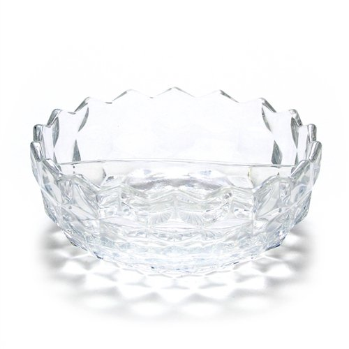 (American by Fostoria, Glass Mayonnaise Bowl, Divided)