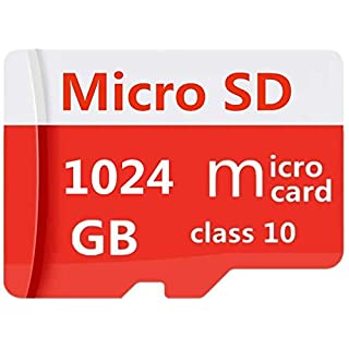1024GB Micro SD SDXC High Speed Class 10 Transfer Speeds Action Cameras, Phones, Tablets PCs (1024GB)