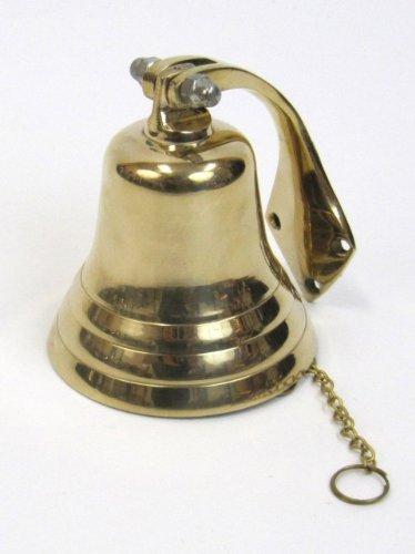 Brass Small Dinner Bell Or Ship's Bell, 2 1/2