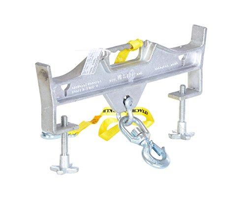 Vestil D-FORK-4-SL Double Fork Attachment Swivel Hook, 6-13/16