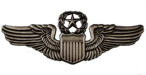 Command Pilot US United States Air Force USAAC Wings Large Hat Lapel pin HON16066