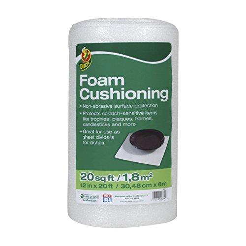 Foam Trophy (Duck Brand Foam Cushioning, 12 Inches x 20 Feet, White (283614))
