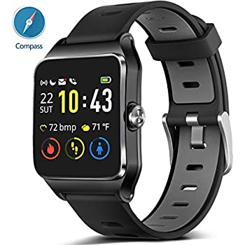 Amazon.com: SoonCat GPS Watch for Men, Running Smart Watch ...