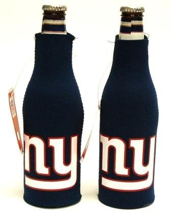 - SET OF 2 NEW YORK GIANTS NFL BOTTLE SUIT KOOZIES