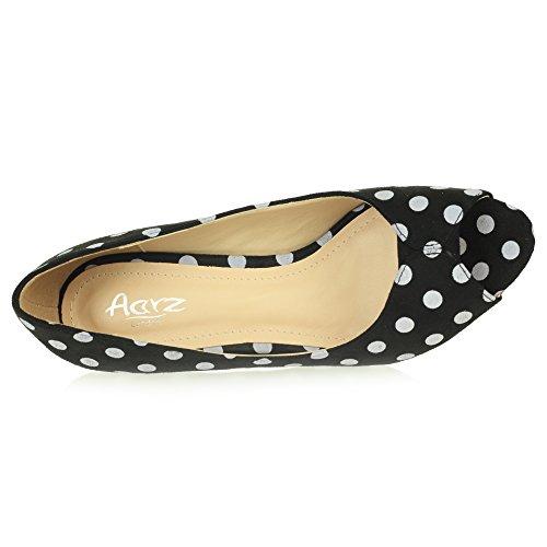 Pointé Sandales Fête Soir Glisser sur Mariage Bal Dames Noir de Décontractée Femmes des Peeptoe Chaussures Taille x7FqaB