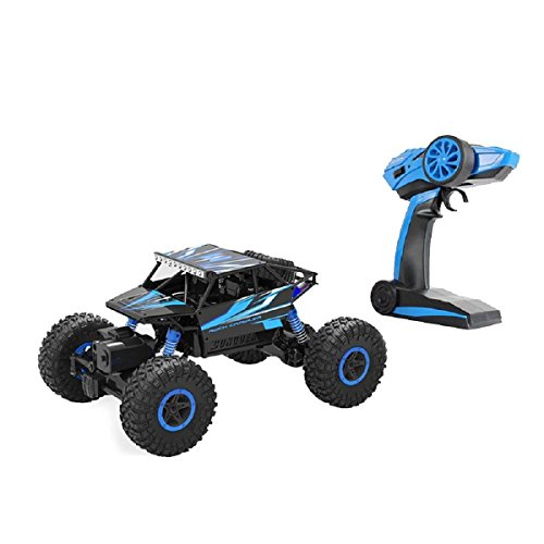 Remote Radio Control Cars,Arvin 2.4Ghz 1/18 RC Car Rock Crawler Vehicle Toy Fast Race Off-Road Truck Rock Vehicle 4WD High Speed Electric Buggy Hobby Car