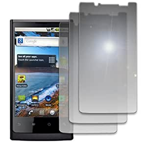 Mirror Screen Protector for Huawei IDEOS X6 U9000 - 3 Pack