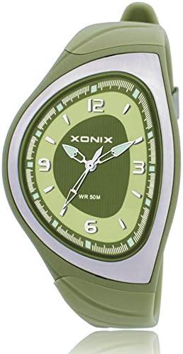子供用腕時計 レトロ 個性的 ポインター 防水 クォーツ腕時計 A